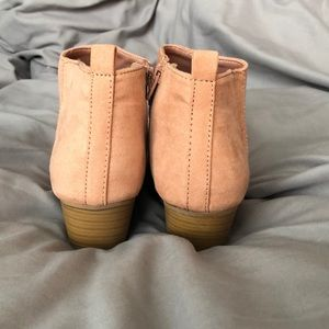Old Navy Shoes - Low sued booties